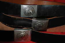 WW2 reproduction leather belt