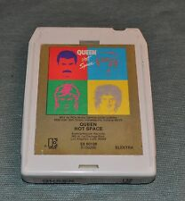 Queen Hot Space 8 Track Tape TESTED 1982