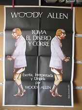 A954       TOMA EL DINERO Y CORRE WOODY ALLEN
