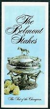 1974 BELMONT STAKES HORSE RACING PROGRAM - LITTLE CURRENT BY 7 - MINT!
