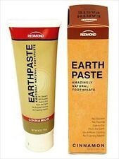 EARTHPASTE-NATURAL FLUORIDE FREE TOOTHPASTE W/ REDMOND CLAY-TOOTH PASTE-CINNAMON