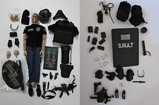 "1/6 Scale 12"" SWAT Point-Man Elite Special Force Police Action Figure Full Set"