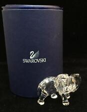 Swarovski Crystal ELEPHANT with Box EXCELLENT CONDITION