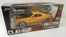 Jada Toys 1/24 Bigtime Muscle 1970 Ford Mustang Boss 429 Yellow