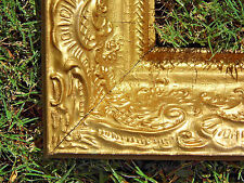 "Vintage Ornate Wood Gold Gilt Picture Frame 24"" x 34""  Fits 19"" x 29"""