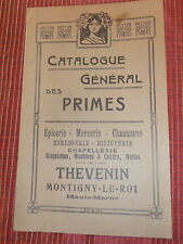 catalogue prime - épicerie - mercerie - horlogerie -  ( ref  21 )