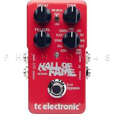 TC Electronic Hall of Fame Reverb TonePrint Electronics Stereo Effects Pedal