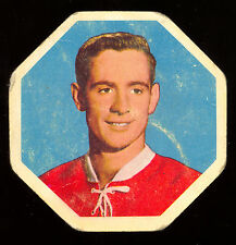 1961-62 YORK PEANUT BUTTER YELLOW BACKS #35 BOBBY ROUSSEAU VG MONTREAL CANADIENS