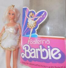 Vintage Barbie Ballerina with Crown Stand Ballet Shoes Outfit Tutu Original Box