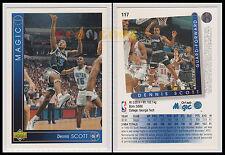 NBA UPPER DECK 1993/94 - Dennis Scott # 117 - Magic - Ita/Eng - MINT