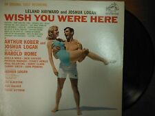33 RPM Vinyl Leland Hayward Joshua Logan Wish You Were Here RCA Rec  012115SM