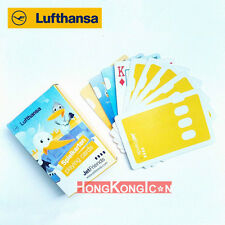 Lufthansa German Airlines Aviation JetFriends Poker Playing Cards ~NEW~