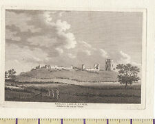 1783 ANTIQUE SMALL GEORGIAN PRINT ~ RUINS OF HADLEY CASTLE ~ ESSEX