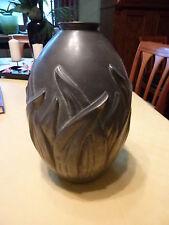 Jugendstil Zinn  Frankreich ca 1915  Vase  26 cm hoch ,16 cm Durchmesser