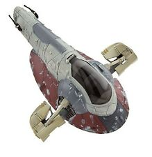 Disney Store Star Wars Force Awakens Boba Fett Slave 1 Starship Die Cast Figure