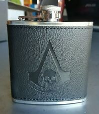 ASSASSINS CREED IV Black Flag Hip Flask Man Cave Christmas Birthday Fathers Gift