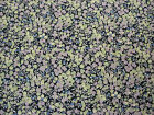 """LIBERTY OF LONDON TANA LAWN COTTON FABRIC """"Wiltshire Berry"""" 2.4 M BLUES/PURPLES"""