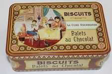LA CURE GOURMANDE BISCUITS TIN-Palets au Chocolat