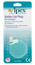 Apex Ear Plugs Rubber for Swimmers 1 Pair (Pack of 4)