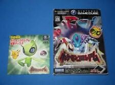 Nintendo Gamecube Pokemon Colosseum w/privilege Celebi Bonus Disc Japan GC