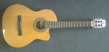 "Admira ""Sara EC"" classical electro acoustic nylon string guitar, naturel, neuf!!!"