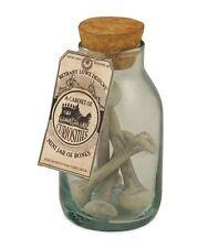 TJ5328 Mini Jar Of Bones Skeleton Spooky  By Bethany Lowe Halloween Fall glass