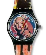 "SWATCH ARTIST GENT ""MARYLIN by Mimmo Rotella"" (GZ132) NEUWARE"