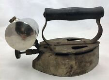 VERY RARE FIND, ANTIQUE / VINTAGE GAS IRON Patina Steampunk