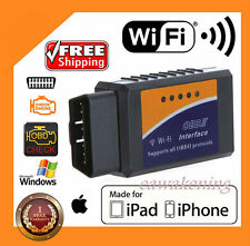 ELM327 WiFi OBD2 OBDII Car Diagnostic Scanner Code Reader Tool for iOS&Android F