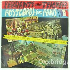 FERRANTE AND TEICHER SEALED LP Postcards From Paris ORIGINAL 1st Press VINYL