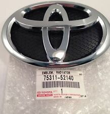 Genuine Toyota Front Badge Emblem Yaris 2005-2011 Logo New Original 75311-52140