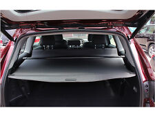 Black Retractable Rear Cargo Trunk Cover For Toyota Highlander 7 Seats 2014-2016