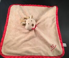 Tender Kisses - Baby's First Christmas REINDEER LOVEY (security blanket lovie)