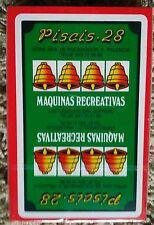BARAJA ESPAÑOLA 40 naipes PISCIS - 28 Máquinas recreativas - FOURNIER
