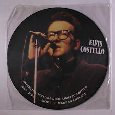 ELVIS COSTELLO: Interview Picture Disc LP (UK pic disc) Rock & Pop