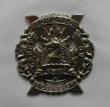 CANADIAN ARMY CAP BADGE. THE TORONTO SCOTTISH REGIMENT.