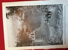 m12w ephemera 1940s ww2 picture 8th army engineers bridge repairs vasto