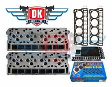 08-10 FORD 6.4 POWERSTROKE ARP HEAD STUD KIT & 2 NEW BARE CYLINDER HEADS NO CORE
