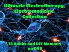 Electrotherapy Zapper Brain Tuner Hulda Clark Bob Beck Medicine 72 Books on DVD