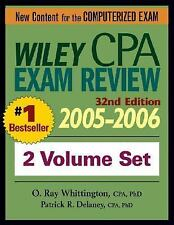 Wiley CPA Examination Review 2005-2006, 2 Volume Set