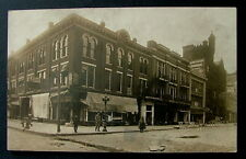 RPPC POSTCARD BUILDINGS ON 4th STREET HIPPODROME THEATER FULTON MARKET CAINS #99