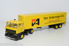 LION CAR DAF 2800 TRUCK WITH TRAILER VAN AMERONGEN EXCELLENT CONDITION