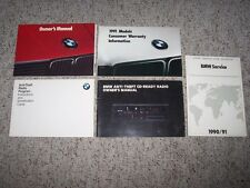 1991 BMW 318i 318is 325i 325is 325i Convertible 325iX Owner Operator User Manual