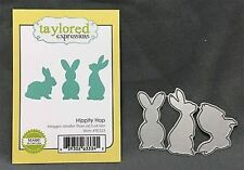 Bunny HIPPITY HOP Die Set TE523 Taylored Expressions Dies Easter Animals rabbits