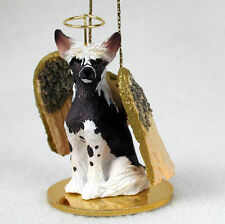 Chinese Crested Dog Figurine Angel Statue
