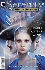 SERENITY LEAVES ON THE WIND #3 DOS SANTOS A VARIANT FIREFLY TV MOVIE SEQUEL