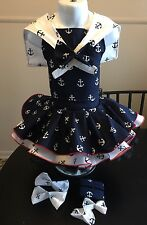 National Pageant Sailor Nautical Wear OOC Casual Wear  Size 18mos-3t