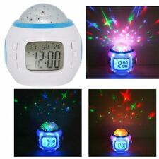 MAGIC LED PROJECTOR MUSIC STARRY SKY CALENDAR ALARM CLOCK THERMETER