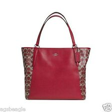 Coach Bag F33480 Saffiano PVC Bailey Tote Red by Agsbeagle COD