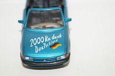 GAMA OPEL ASTRA CABRIOLET Sondermodell 2000km durch Deutschland 1/43 blau